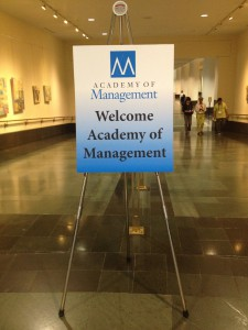 Academy of Management Annual Meeting