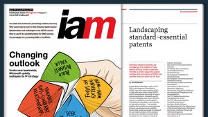 IAM magazine standard essential patents